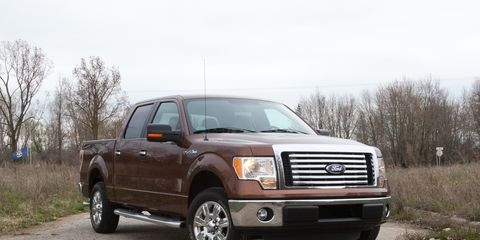 2011 ford f150 4x4 ecoboost towing capacity