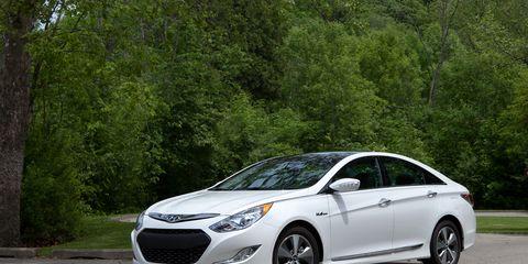 2011 Hyundai Sonata Hybrid Road Test Ndash Review Ndash