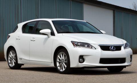 2011 lexus ct200 hybrid