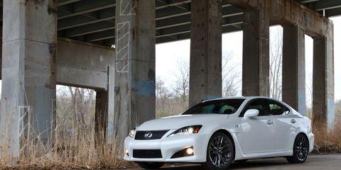 2011 Lexus IS F Road Test –