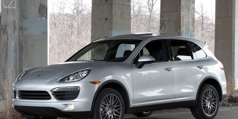 2011 Porsche Cayenne S Road Test Ndash Review Ndash Car And Driver