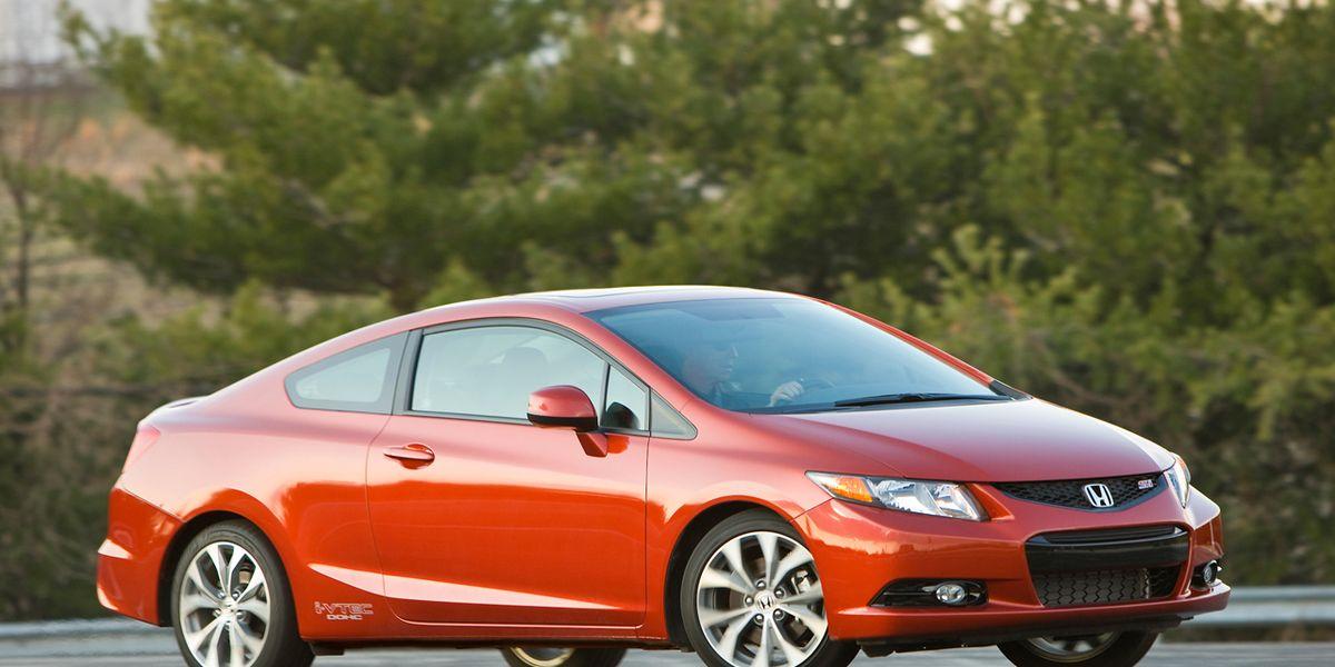honda civic  road test review car  driver