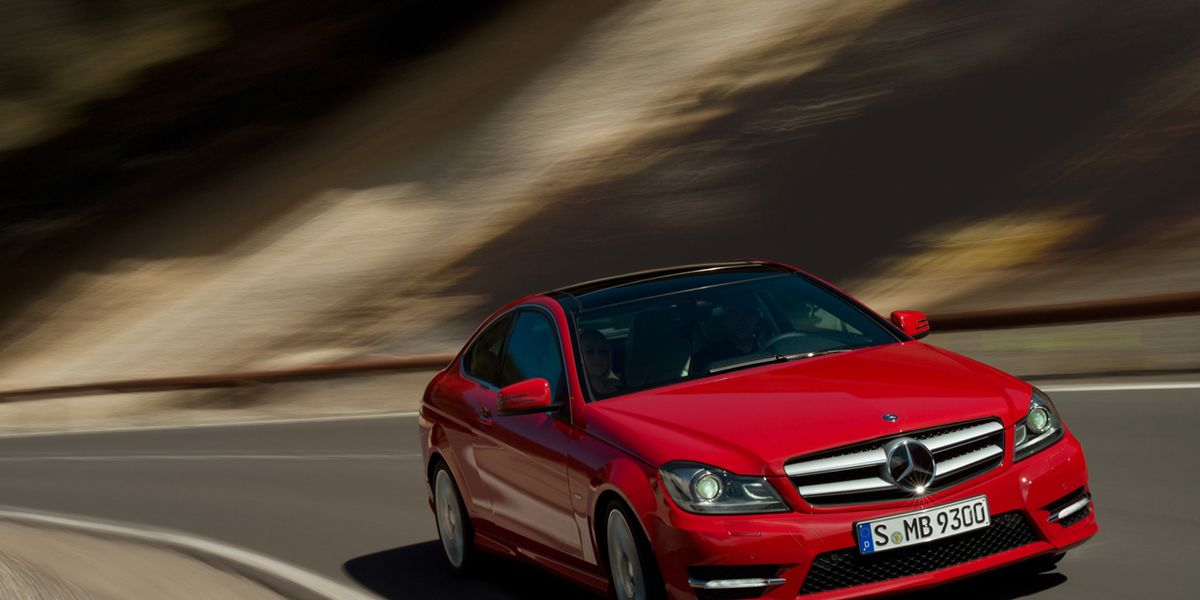 2012 Mercedes Benz C Class C250 C350 Coupe First Drive