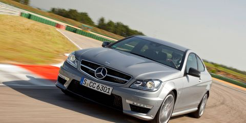 2012 Mercedes-Benz C63 AMG Coupe –