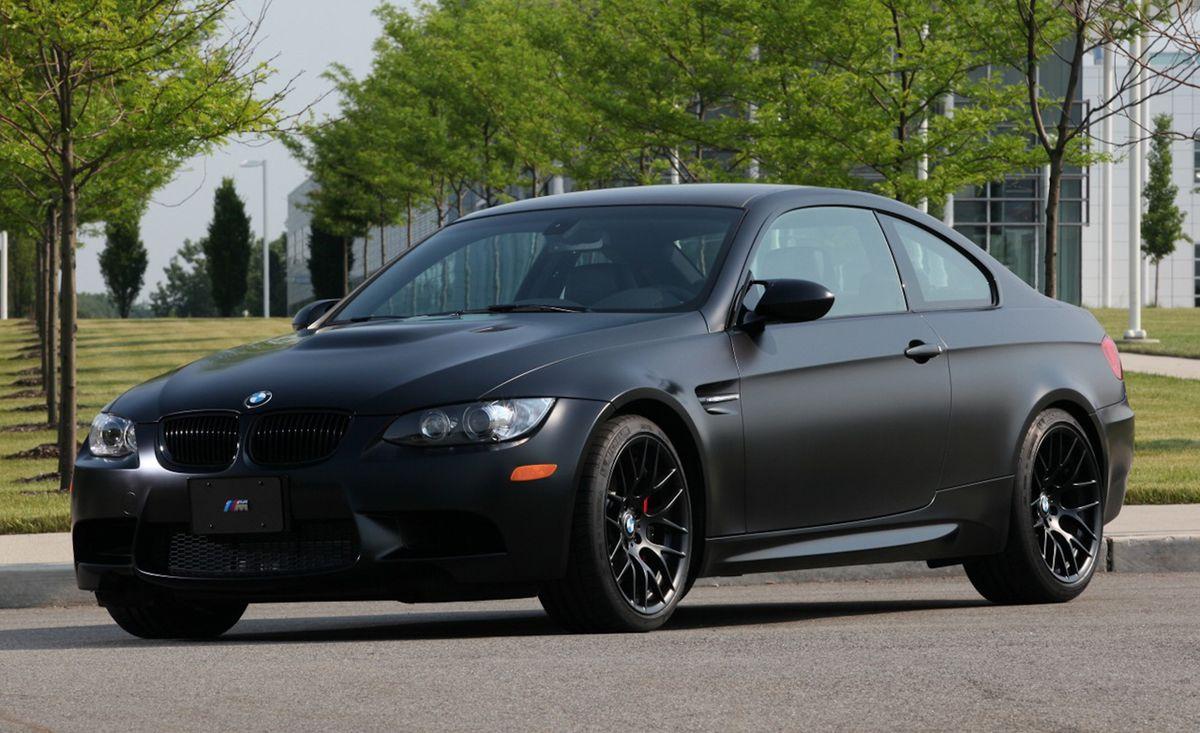 2011 Bmw M3 Coupe Frozen Black Edition