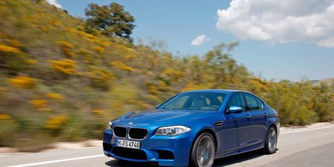 2012 BMW M5 Official Photos and Info –