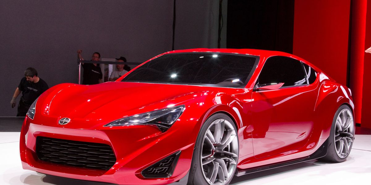 Scion FR-S Concept Revealed