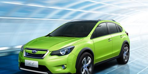 6cc4c8f3fd7 Subaru XV Concept  ndash  News  ndash  Car and Driver