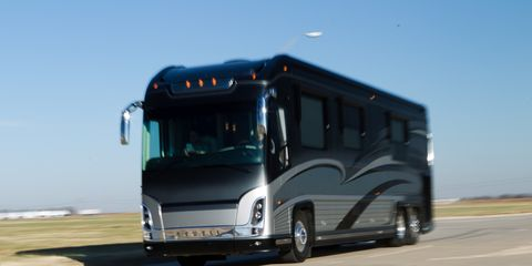 Newell P2000i RV Review - Feature - Car and Driver