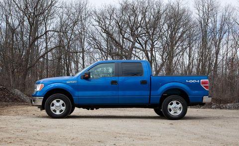 Motor vehicle, Tire, Wheel, Blue, Vehicle, Natural environment, Truck, Land vehicle, Automotive tire, Pickup truck,