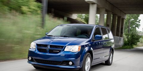 2012 Dodge Grand Caravan R T Road Test Ndash Review Ndash Car And Driver
