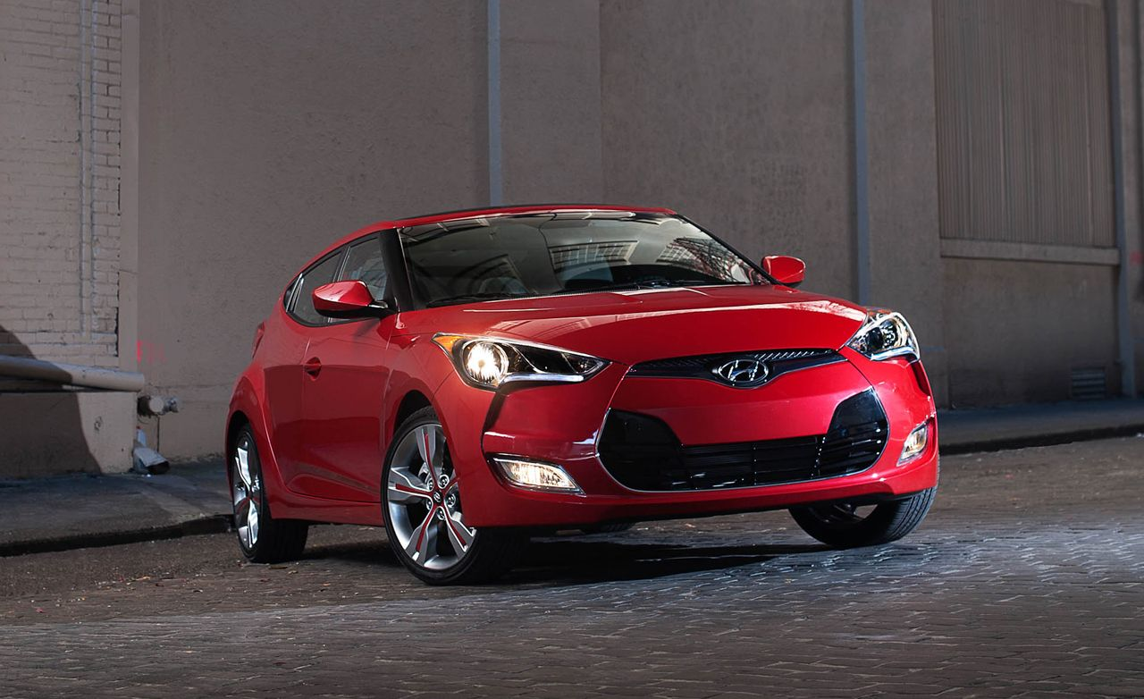 2012 Hyundai Veloster Road Test 8211 Review 8211 Car And Driver