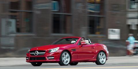 2011 mercedes slk 350 review