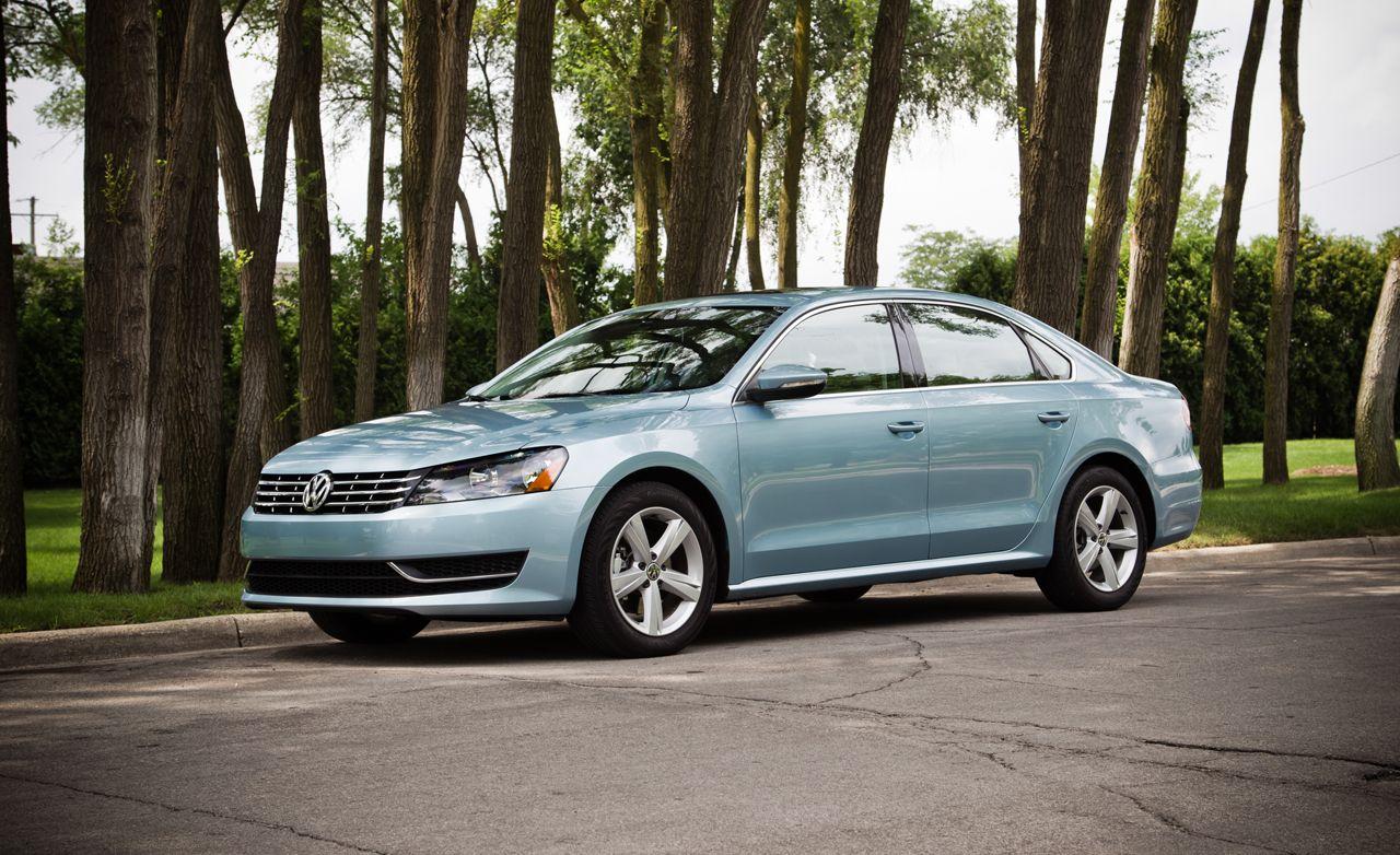 2012 Volkswagen Passat Tdi Se Road Test Review Car And Driver