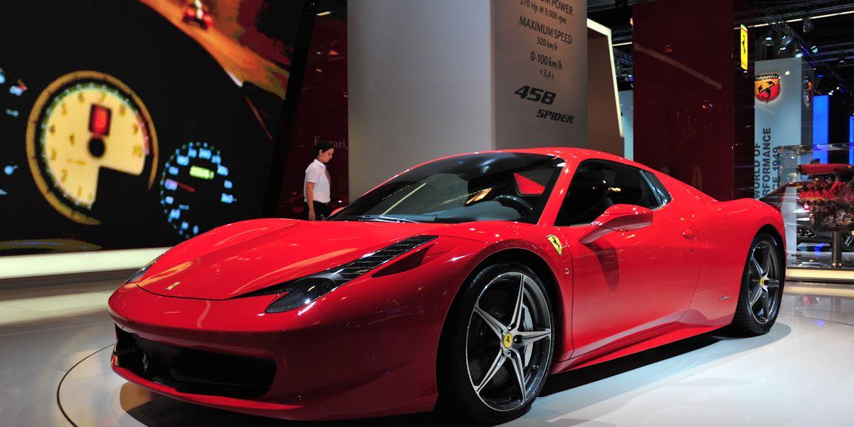 2012 ferrari 458 spider photos and info – auto shows – car
