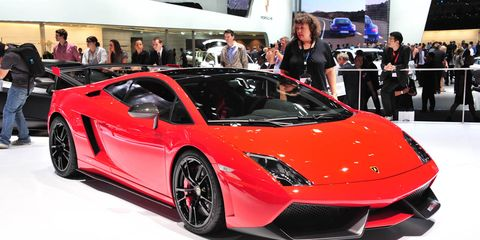 2012 Lamborghini Gallardo Lp570 4 Super Trofeo Stradale Photos And