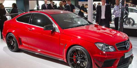 C63 Amg Black Series For Sale >> 2012 Mercedes Benz C63 Amg Coupe Black Series 8211 News