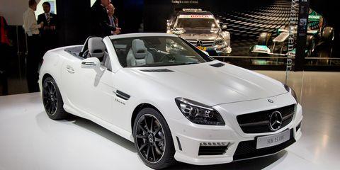 2012 Mercedes Benz Slk55 Amg Official Photos And Info 8211