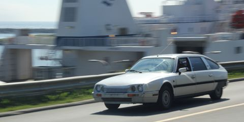 the latest abe0e 7de9c Retour   224  L Envoyeur  Driving a Citroen CX from New York to ...