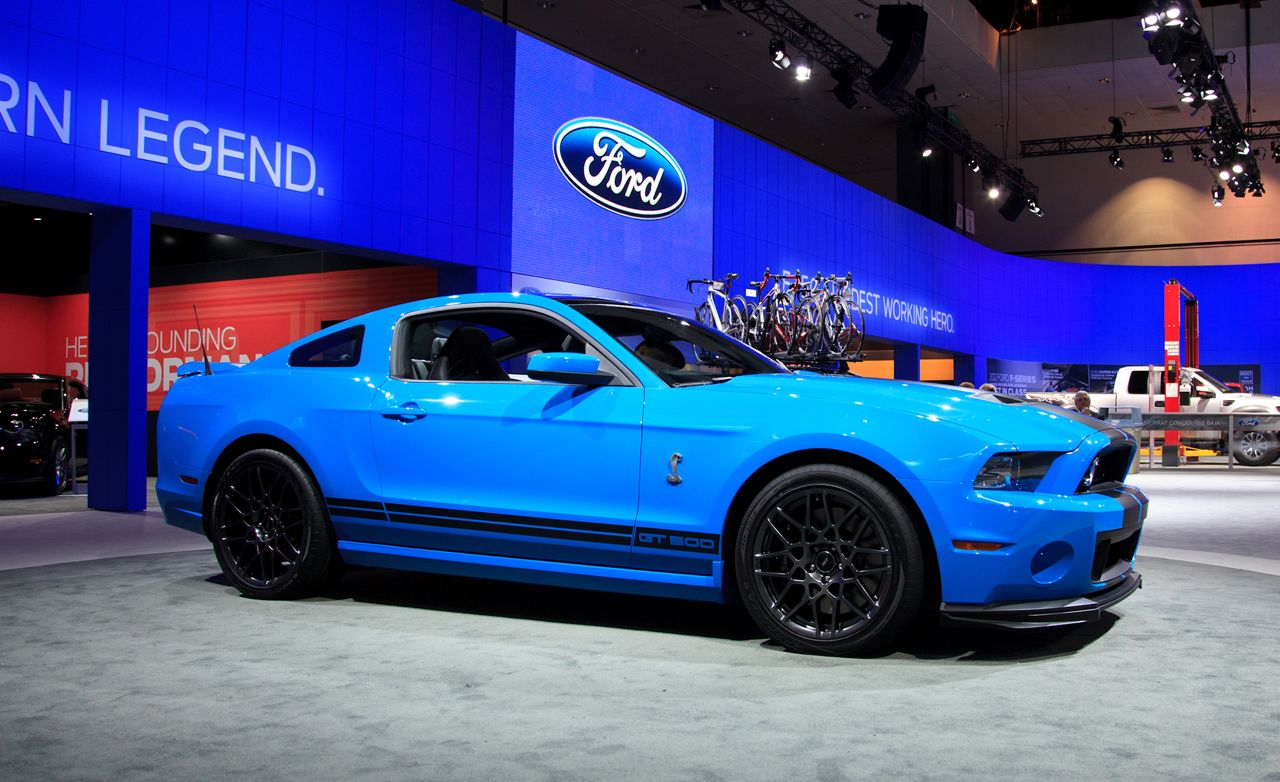 2013 ford mustang shelby gt500 official photos and info news