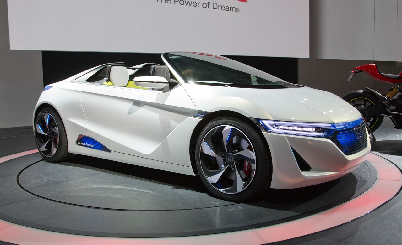 Honda Ev Ster Small Sports Car Concept Ndash News And Driver