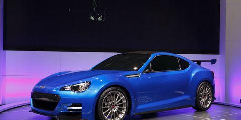 Subaru Brz Sti Price >> Subaru Brz Sti Concept Ndash Auto Shows Ndash Car And Driver