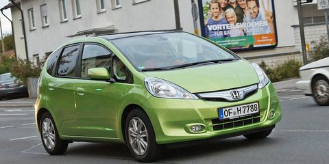 2011 Honda Fit Hybrid Euro Spec First Drive 8211 Review 8211