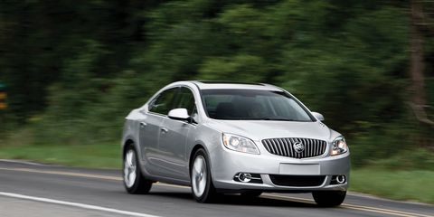 2012 Buick Verano - Review - Car and Driver