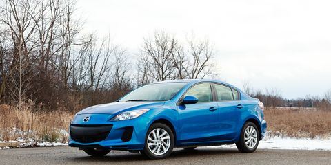2012 Mazda 3 I Touring Skyactiv Test Review Car And Driver