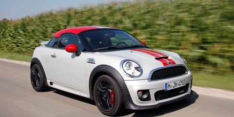 2012 Mini John Cooper Works Coupe Road Test Review Car And Driver