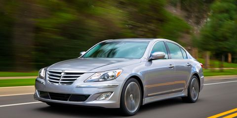 Hyundai Genesis R Spec 5 0 Sedan Test Ndash Review Ndash