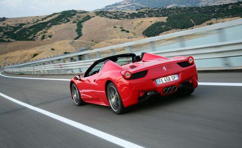 Tire, Wheel, Road, Mode of transport, Automotive design, Vehicle, Performance car, Infrastructure, Automotive exterior, Car,