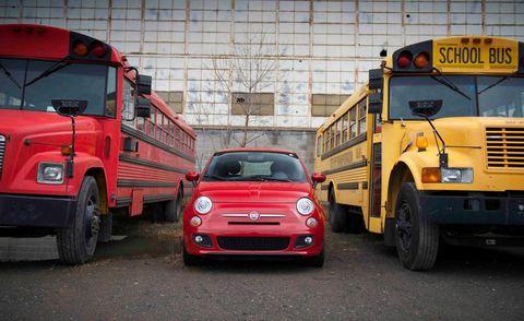 Motor vehicle, Mode of transport, Automotive design, Vehicle, Transport, Land vehicle, School bus, Automotive parking light, Grille, Automotive exterior,