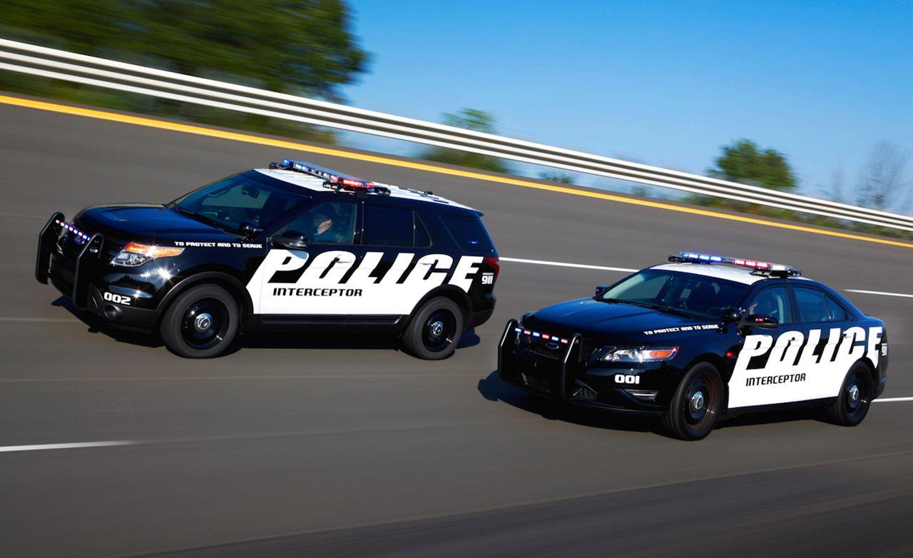 2012 Ford Police Interceptor Interceptor Utility First Drive