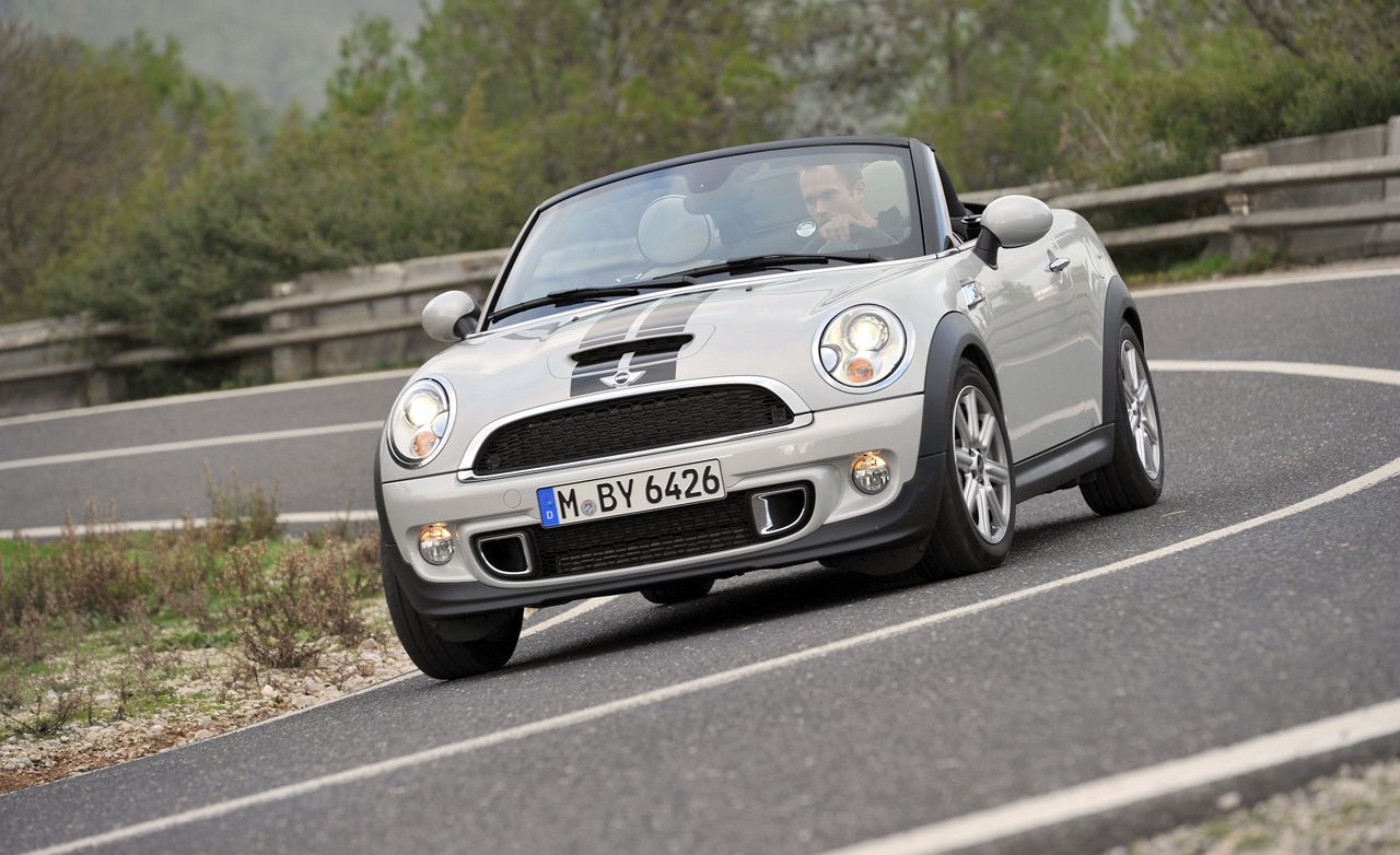 2012 Mini Cooper S Roadster First Drive 8211 Review 8211 Car And Driver
