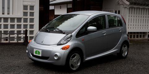 Mitsubishi Electric Car >> 2012 Mitsubishi I Electric Vehicle Test Review Car And