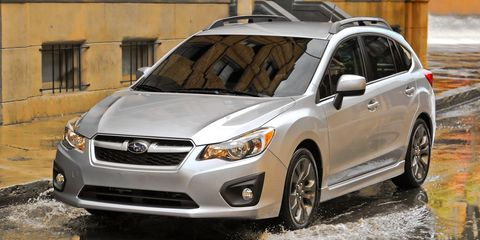Subaru Cvt Problems >> 2012 Subaru Impreza 2 0 Cvt Hatchback Test 8211 Reviews