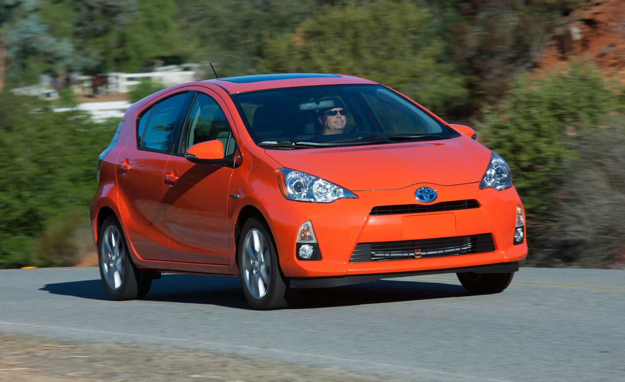 2012 Toyota Prius C First Drive 8211 Reviews 8211 Car And Driver