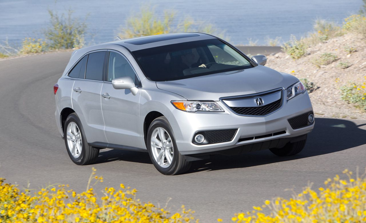 2013 Acura Rdx First Drive 8211 Review 8211 Car And Driver