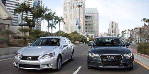 Lexus Vs Audi >> 2012 Audi A6 3 0t Quattro Vs 2013 Lexus Gs350 Comparison