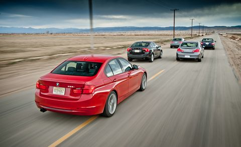 Bmw 328I 0-60 >> The 2012 Bmw 328i Challenges Audi Infiniti Mercedes And Volvo