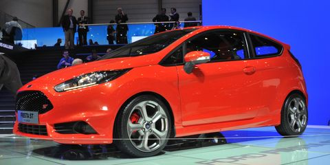 2013 Ford Fiesta St Three Door Photos And Info 8211 News 8211