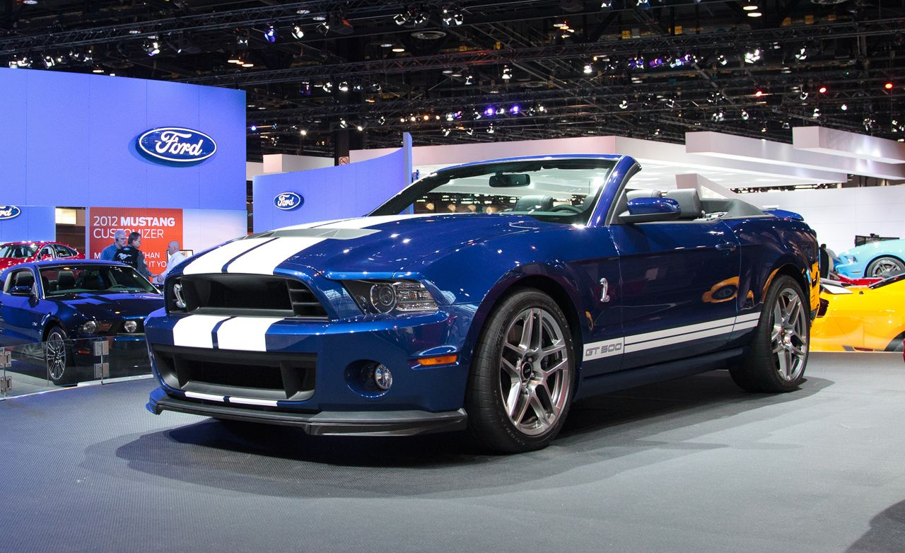 2013 ford mustang shelby gt500 convertible photos and info news car and driver