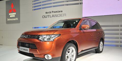 2013 Mitsubishi Outlander Euro-Spec –