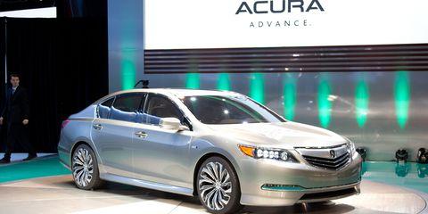 2017 Acura Rlx Concept