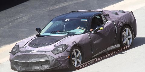 2014 Chevrolet Corvette C7 Spy Photos –