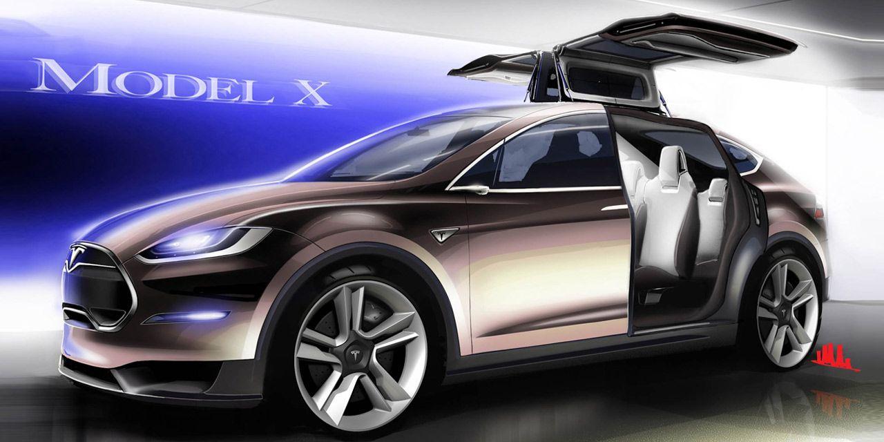 2015 Tesla Model X Photos And Info 8211 News 8211 Car And Driver