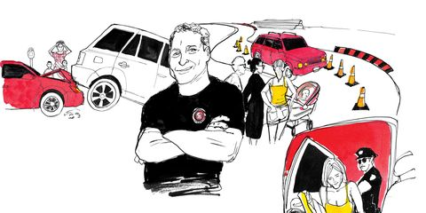 Automotive design, Vehicle door, Alloy wheel, Illustration, City car, Classic car, Drawing, Hubcap, Painting, Graphics,