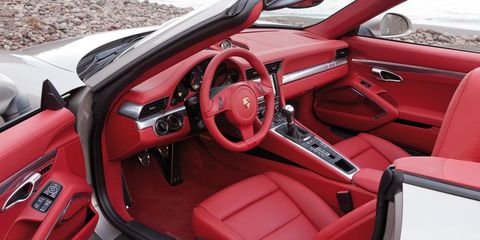 Motor vehicle, Steering part, Steering wheel, Vehicle door, Red, Center console, Car seat, Automotive mirror, Car seat cover, Carmine,
