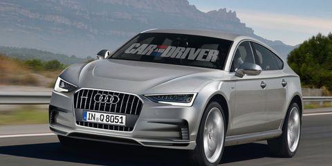 2016 Audi Q8 >> 2016 Audi Q8 Rendered 8211 News 8211 Car And Driver
